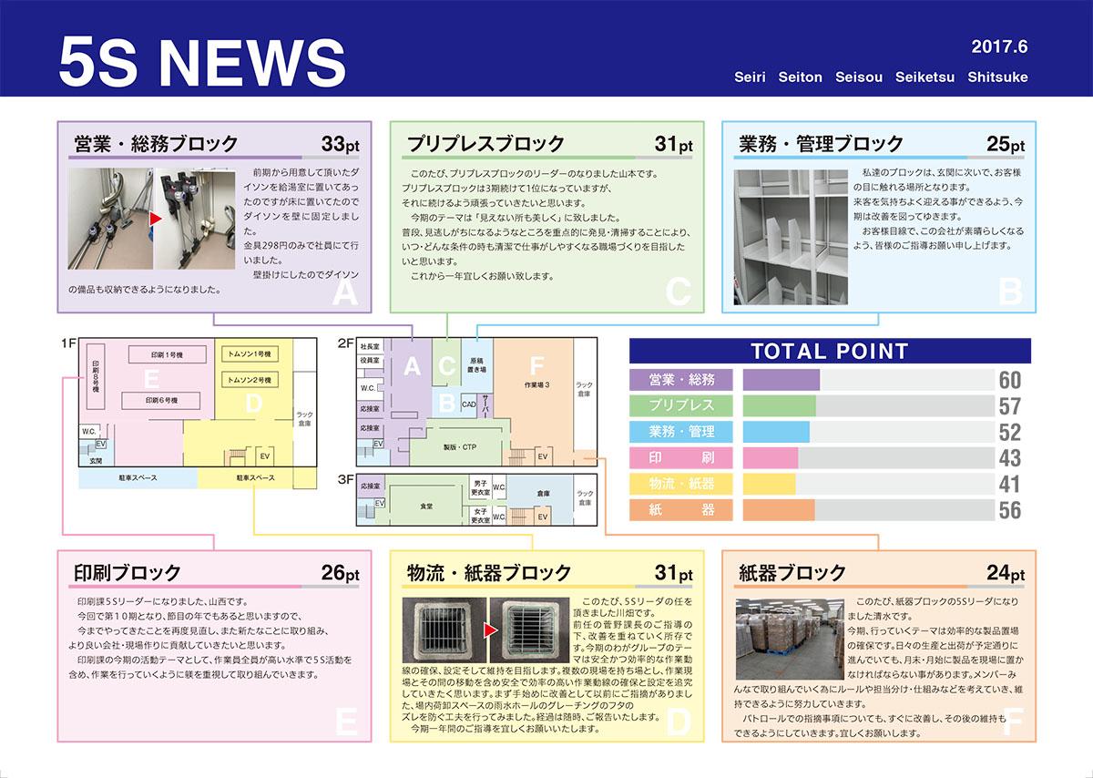 5Sニュース6月
