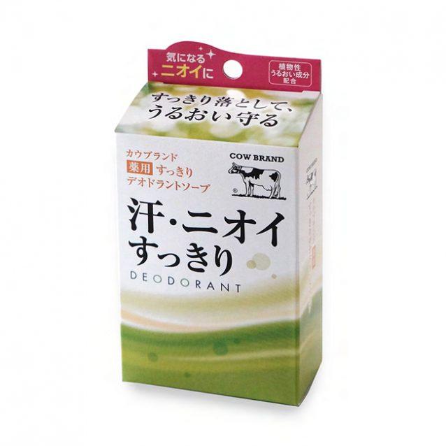 牛乳石鹸 薬用すっきりデオドラントソープ01